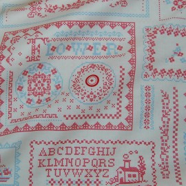PRINTED COTTON LAWN FABRIC