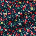 FLORAL PRINTED COTTON LAWN FABRIC