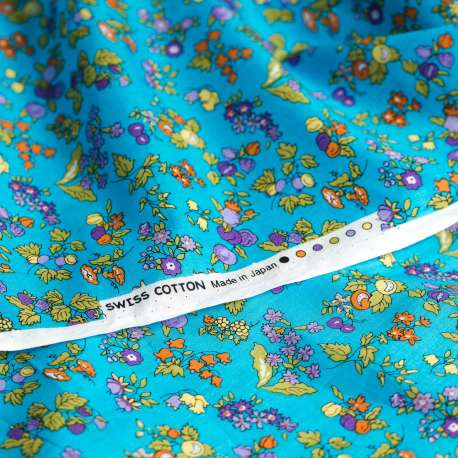 PRINTED SWISS COTTON