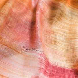 LINEN SILK MIX FABRIC SALVATORE FERRAGAMO ROSE