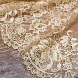 DOUBLE SCALLOPED LACE GOLD
