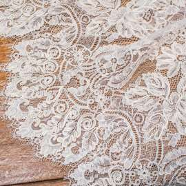IVORY HEAVY CORDED LACE