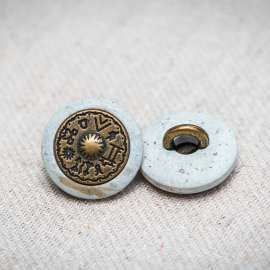 HORN BUTTON (SOLD AS A 6 PIECES PACK)