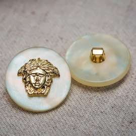 PEARL PLASTIC BUTTON (SOLD AS A 6 PIECES PACK)