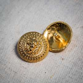 METAL BUTTON (SOLD AS A 3 PIECES PACK)
