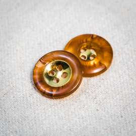 POLYESTER BUTTON (SOLD AS A 6 PIECES PACK)