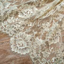 CHAMPAGNE CORDED LACE