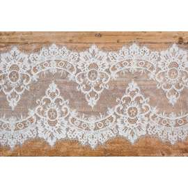 CORDED LACE TRIM