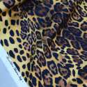 COTTON STRETCH LEOPARD PRINT