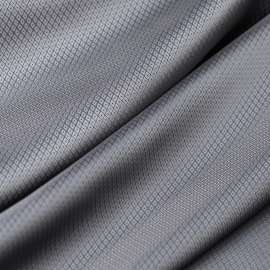 LUXURY GREY JACQUARD LINING