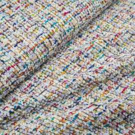 LUXURY BOUCLÉ TWEED FABRIC