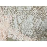 EMBROIDERED TULLE LIGHT PINK